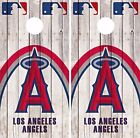 Los Angeles Angels Cornhole Skin Wrap MLB Game Decal Vinyl Sticker Logo DR543 on Ebay