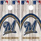 Milwaukee Brewers Cornhole Skin Wrap MLB Game Decal Vinyl Sticker Logo DR545 on Ebay