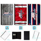 Washington Capitals Passport Holder Leather Cover Cards ID Travel Wallet $4.99 USD on eBay