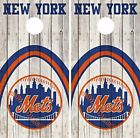 New York Mets Cornhole Skin Wrap MLB Baseball Wood Decal Vinyl Sticker DR548 on Ebay