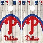 Philadelphia Phillies Cornhole Skin Wrap MLB Wood Decal Vinyl Sticker Logo DR555 on Ebay