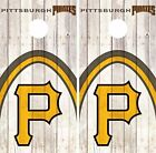 Pittsburgh Pirates Cornhole Skin Wrap Baseball Wood Decal Vinyl Sticker DR556 on Ebay
