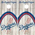 Los Angeles Dodgers Cornhole Skin Wrap Baseball Wood Decal Vinyl Sticker DR574 on Ebay