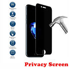 For iPhone XR XS Max 6 7 8 Plus Privacy Anti-Spy Tempered Glass Screen Protector