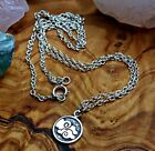 925 Sterling Silver Element Charms and Necklaces Yoga Jewelry