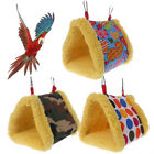 Winter Warm Bird Cage Parrot Hammock Hanging Bed Cave House Swing Nest Tent