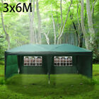 New 3x 3/4/6m 120g Waterproof Outdoor PE Garden Gazebo Marquee Canopy Party Tent