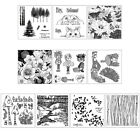 Some Flower DIY Silicone Clear Stamp Cling Seal Scrapbook Embossing Album Decor