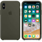 Silicone Cover Ultra-Thin Back Case For iPhone X 5 6S 7  8+ XR XS Max