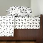 Dalmatian Dog Spotty Spots Pet Nature Cotton Sateen Sheet Set by Roostery