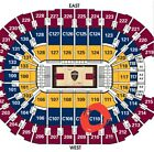 4 TICKETS CLEVELAND CAVALIERS vs DETROIT PISTONS Quicken Loans Arena Sec C110 on eBay
