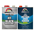 Jet Black Base Coat Kit , 2 Gallon Kit Basecoat & Urethane Reducer, SMR-9700/800