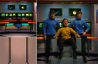 POSTER BACKDROP~STAR TREK~ENTERPRISE BRIDGE FOR 1/6 FIGURE KIRK SPOCK MCCOY SULU on eBay