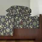 Year Of The Dog Chinese Chinese 100% Cotton Sateen Sheet Set by Roostery