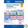 More images of Kewtech TC8 Electrical Installation Certificate OVER 100A Supply - 18TH EDITION