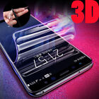 For Samsung S8 S9 S10 Plus Lite Note 8/9 TPU Soft Clear Screen Protector Film /D