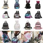 Women Chic Sequins Glitter Bling Backpack School Travel Rucksack Shoulder Bag