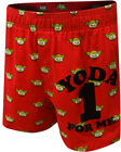 DISNEY STAR WARS Men's Yoda One For Me Boxer Shorts - Red Valentine's Day $6.56 USD on eBay