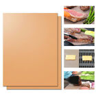 Heat Resistant Grill Mat Copper Bakeware Mat Barbecue  Easy Clean Grill Pad
