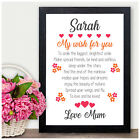 PERSONALISED Birthday Gifts for Girls Her Daughter Niece Best Friends Gifts