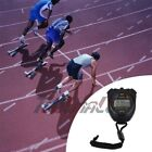 Electronic LCD Timer Digital Sport Stopwatch Date Time Alarm Counter Chronograph photo