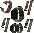 New Leather Watch Band Wrist Strap For Apple Watch 1 2 3 4 38/42/40/44mm US  image