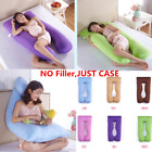 U Shape Full Body Maternity Pillow Case Sleeping Support for Pregnant Women image