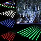 Meteor shower snow LED lights 50 cm 8 tube romantic lighting for garden holidays