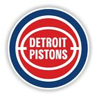 Detroit Pistons Round Precision Cut Decal on eBay
