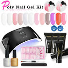Quick Extension Builder Poly Gel Kit 30g Polygel Nail Art Design Pen Mold Tips