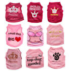 XS/S/M/L Cute Girl Dog Clothes Pet Puppy Cat Apparel Costume Summer Shirt Vest