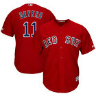 Boston Red Sox Rafael Devers Scarlet Alternate Official Cool Base Player Jersey