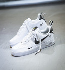 NIKEAIR FORCE 1 ONE UTILITY LOW UK US 7 8 8.5 9 10 11 12 WHITE 07 LV8 ALL SIZES