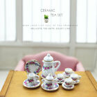 Внешний вид - 31 Styles Miniature Print Porcelain Tea Set 1:12 Dollhouse Dinnerware Decoration