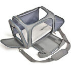 Portable Pet Carrier Car Seat Soft Sided Small Cat Dog Comfort Bag Travel USA