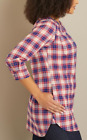 NEW Duluth Trading Company Women's Free Range Cotton 3/4 Sleeve NWT Size S/Med