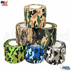 5 Roll Camouflage Elastic Self Adhesive Cohesive Wrap Bandage Medical Sport Tape $7.99 USD on eBay