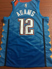 NWT mens Oklahoma City Thunder Steven Adams 12 jersey S 2XL