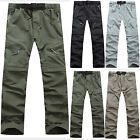 Men Outdoor Hiking Camping Fishing Quick Dry Pants Breathable Waterproof Trouser