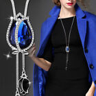 Hk- Tulip Pendant Elegant Flower Long Necklace Sweater Chain Womens Jewelry Exot