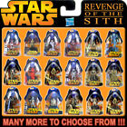 """HASBRO STAR WARS ROTS Revenge of the Sith 3¾"""" Action Figure Series (3.75 Inch) $23.72 CAD on eBay"""