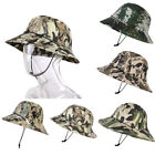 Summer Jungle Camouflage Fisherman Hat Camping Cap Bucket Hat Military Cap US