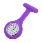 NEW Silicone Nurse Doctor Multicolor Brooch Tunic Watch With Free Battery Watch