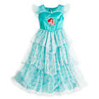 NWT Disney Store Ariel Deluxe Nightgown Costume Little Mermaid Girls many sizes