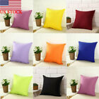 US 40X40CM Retro Pillow Case Home Car Throw Sofa Waist Cushion Cover Decoration image