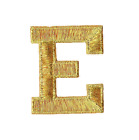 """Купить GOLD - 2"""" Alphabet/Letters your choice - Iron on Applique/Embroidered Patch"""