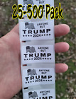 """""""anyone But Trump 2020""""  25-500 Pack Stickers Politic Decal Anti Impeach"""