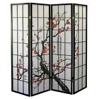 Kyпить 4, 6, 8 Panel Plum Blossom Screen Room Divider на еВаy.соm
