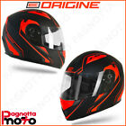 CASCO INTEGRALE ORIGINE HELMETS TONALE POWER MATT RED - BLACK | ROSSO OPACO - NE