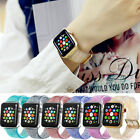 For Apple Watch Band iWatch Glitter Wrist Strap Bling Series 1 2 3 4 Shinny image